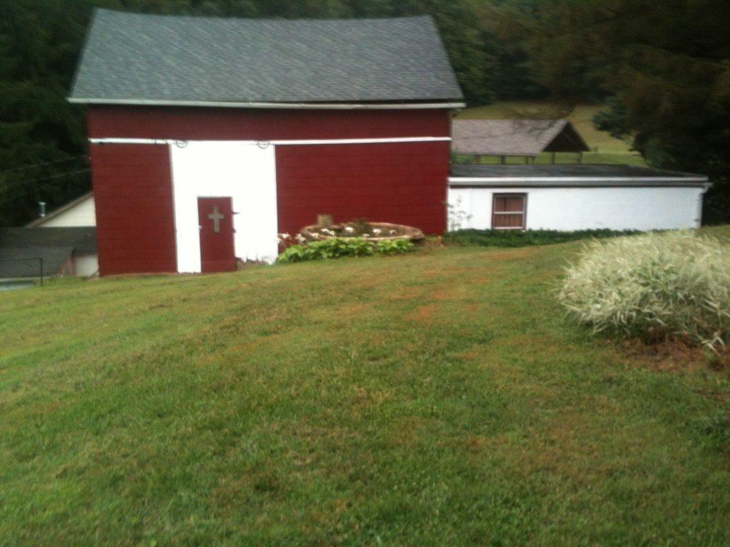Barn-Chapel entrance