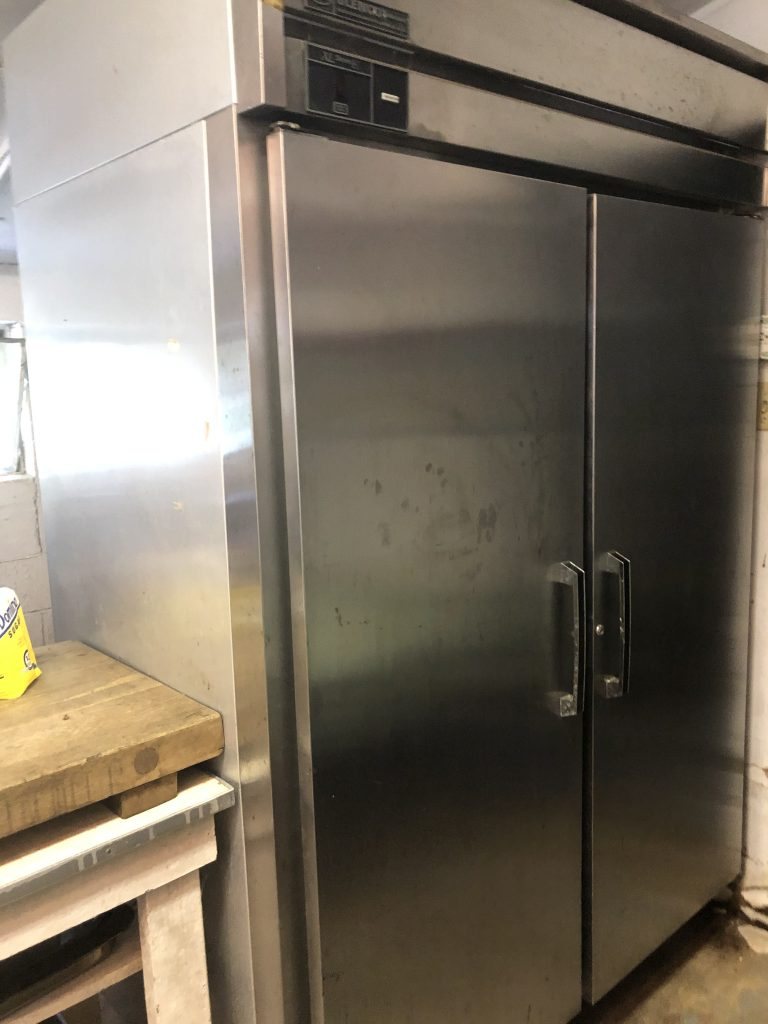 Camp kitchen commercial refrigerator
