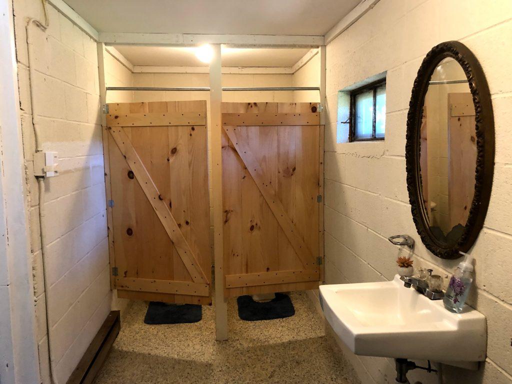 Willow bathroom stalls