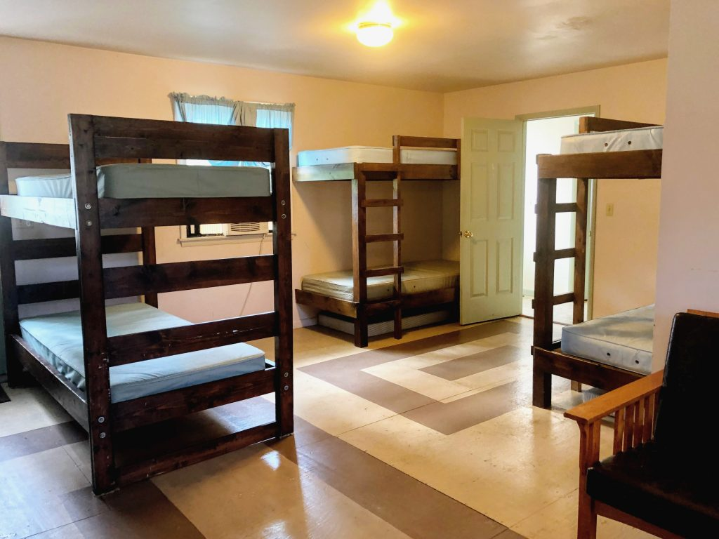 Lodge bunk room #1